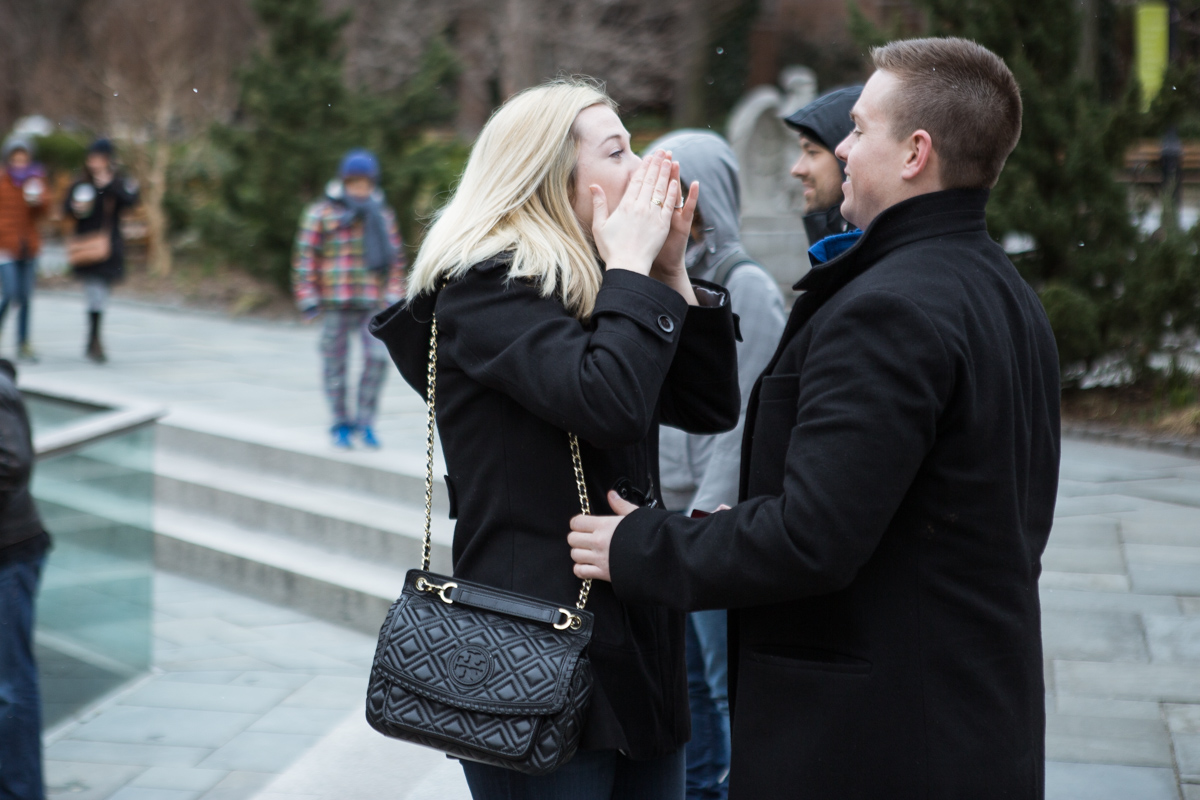 Photo 7 Marriage Proposal in Central Park Zoo | VladLeto