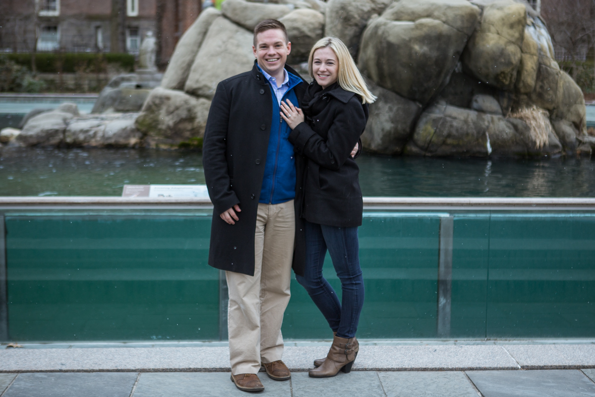 Photo 9 Marriage Proposal in Central Park Zoo | VladLeto