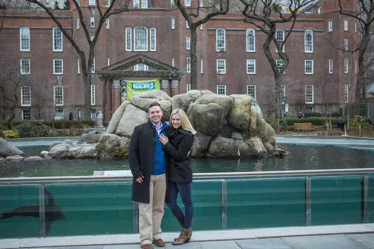 Photo 19 Marriage Proposal in Central Park Zoo | VladLeto