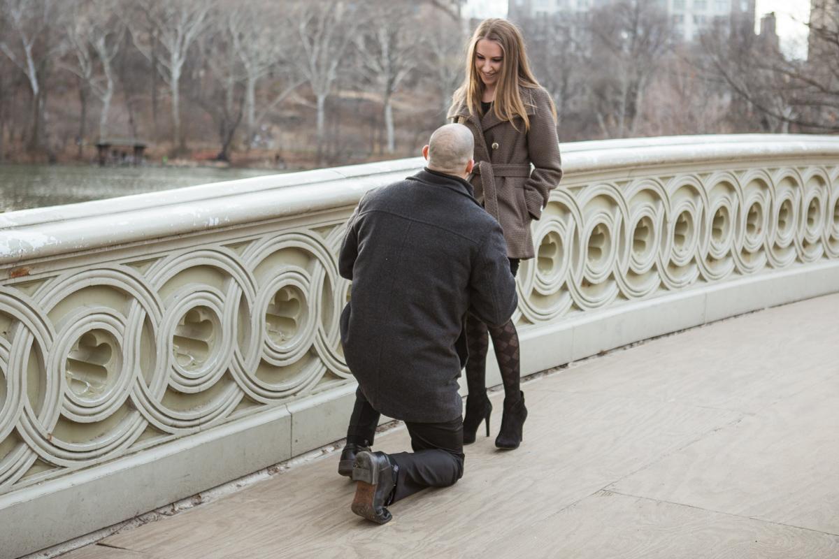 [Bow Bridge Marriage Proposal]– photo[1]