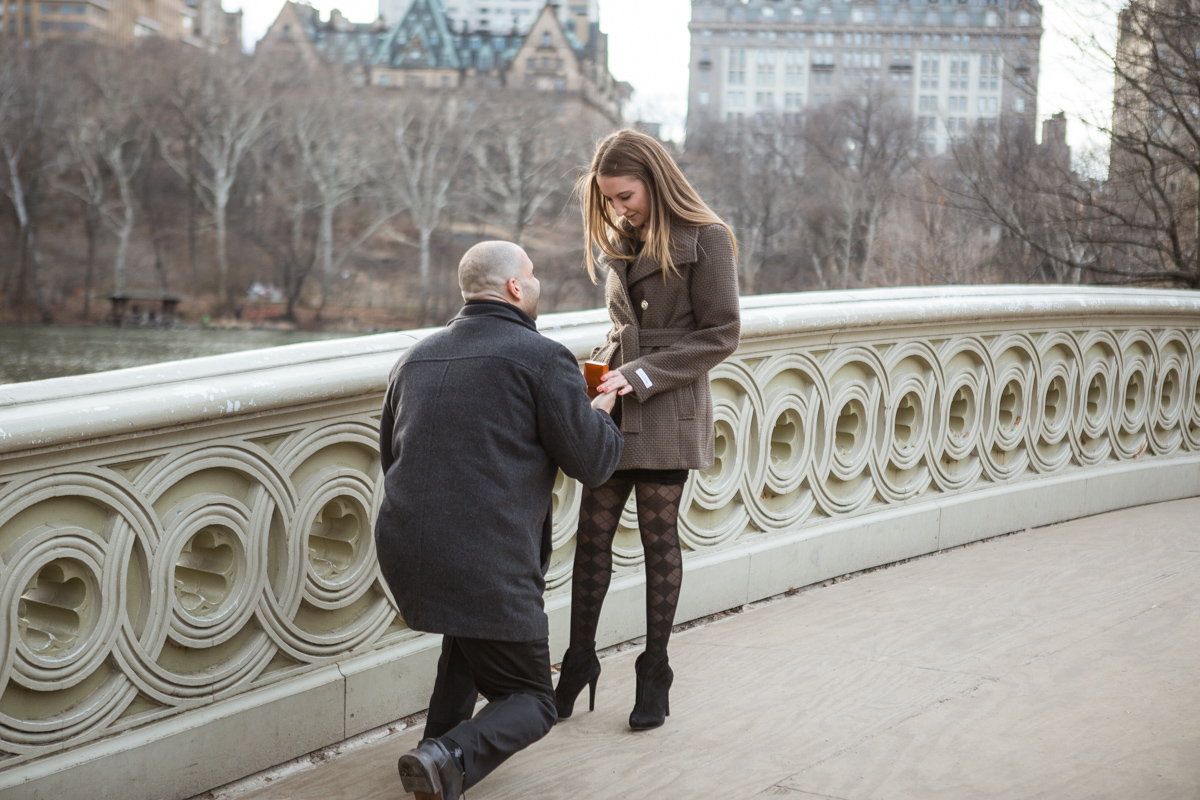 [Bow Bridge Marriage Proposal]– photo[2]