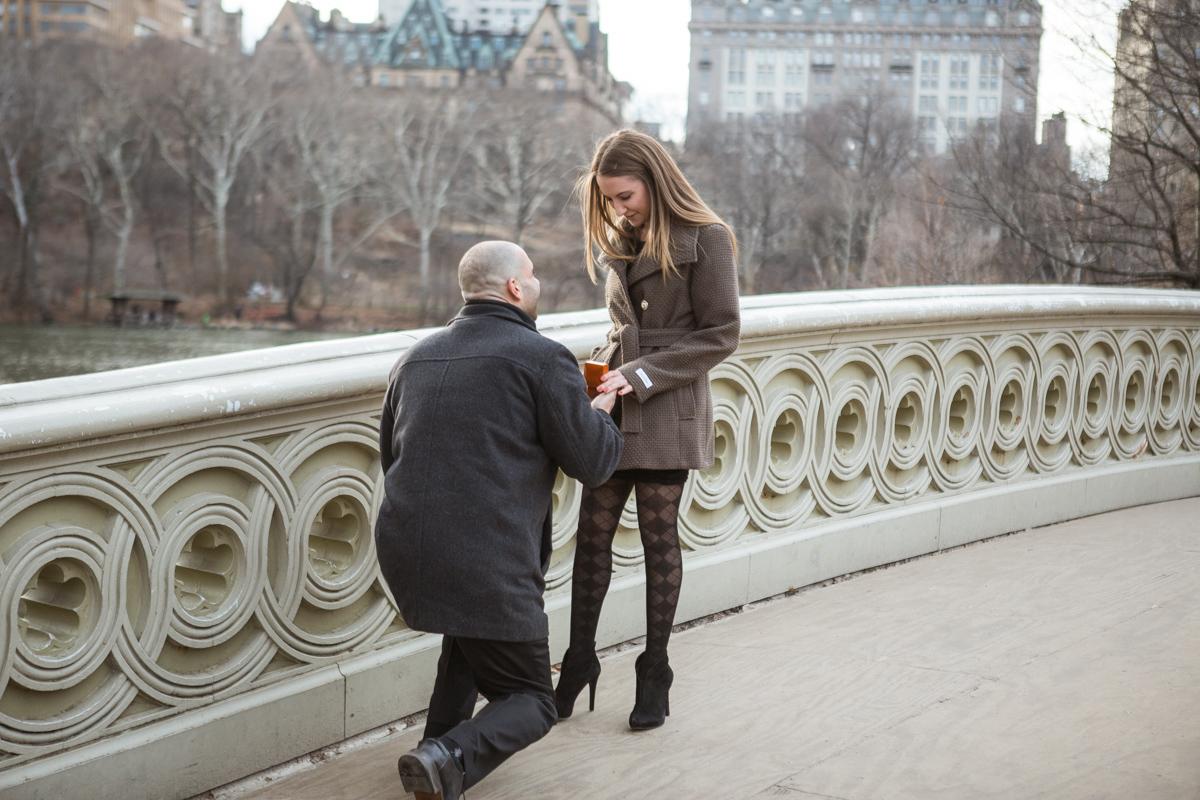 [Bow Bridge Marriage Proposal]– photo[2]