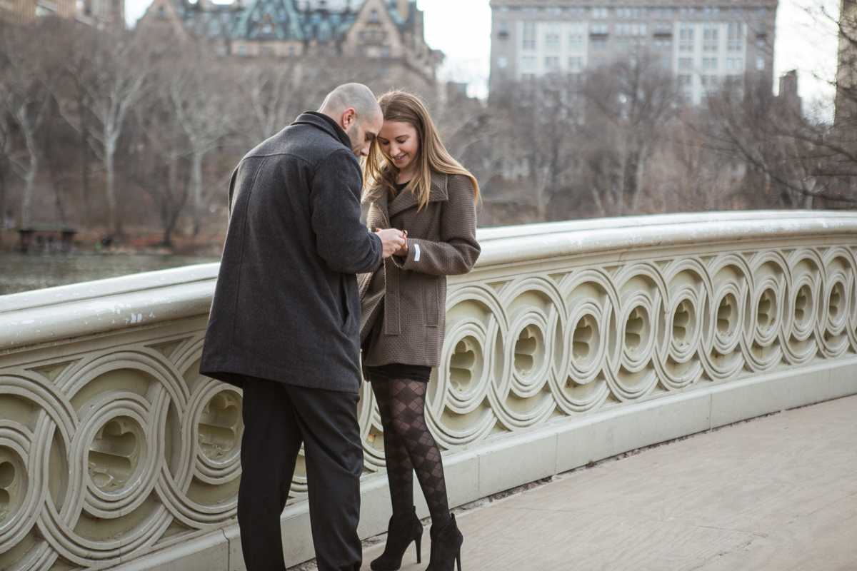 [Bow Bridge Marriage Proposal]– photo[3]