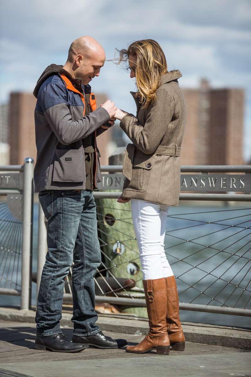 Photo 13 Marriage proposal at Brooklyn Bridge Park | VladLeto