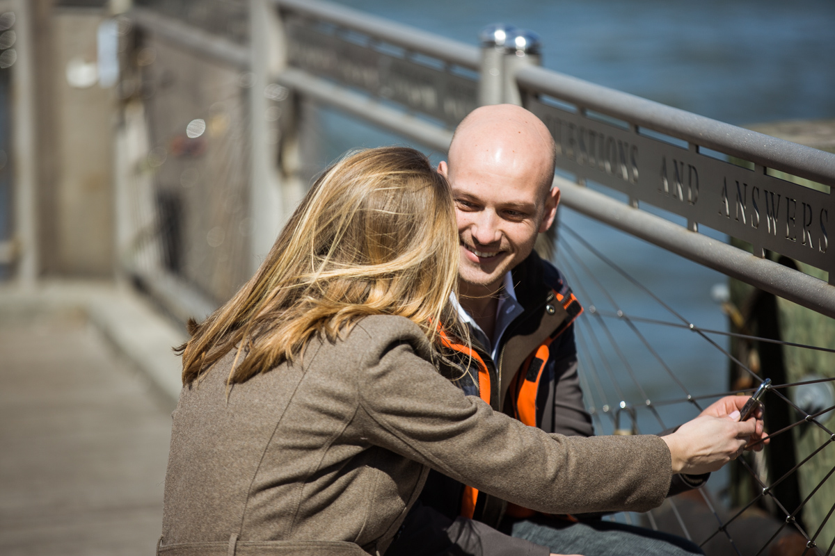 Photo 9 Marriage proposal at Brooklyn Bridge Park   VladLeto
