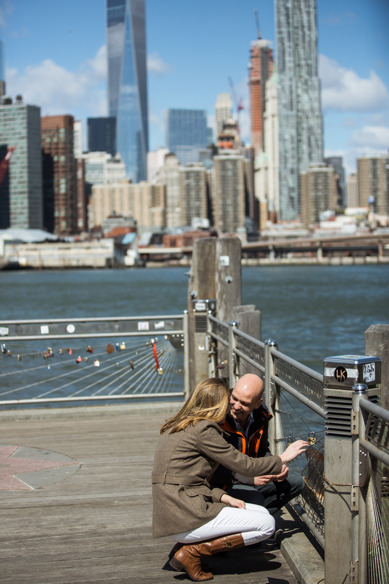 Photo 19 Marriage proposal at Brooklyn Bridge Park | VladLeto