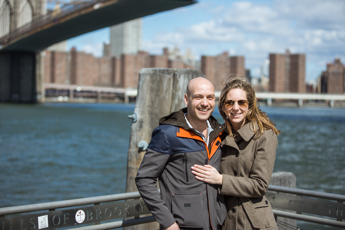Photo 21 Marriage proposal at Brooklyn Bridge Park | VladLeto