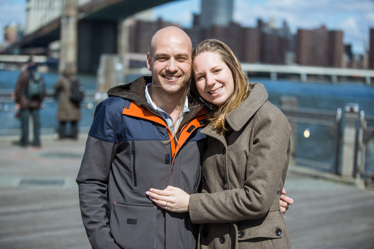 Photo 23 Marriage proposal at Brooklyn Bridge Park | VladLeto