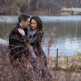 Photo Secret Proposal near Bow bridge, Central Park | VladLeto