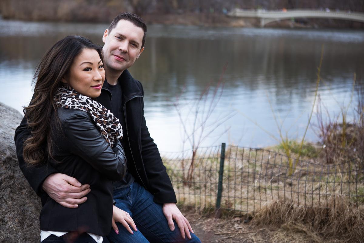 Photo 11 Secret Proposal near Bow bridge, Central Park | VladLeto
