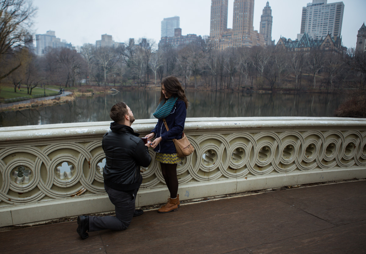 Photo Bow Bridge surprise Wedding Proposal. | VladLeto