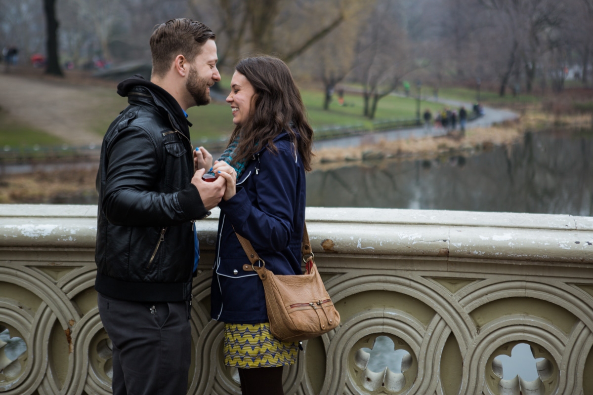 [Bow Bridge surprise Wedding Proposal]– photo[2]