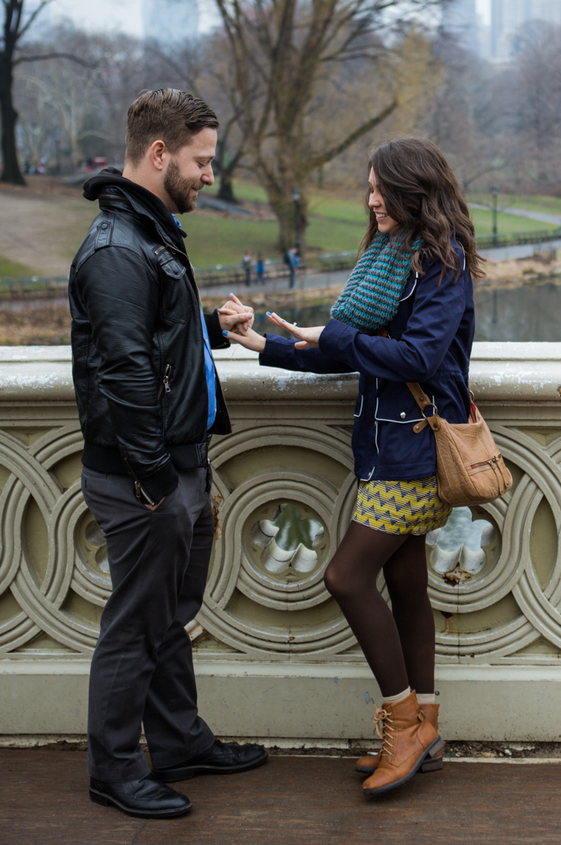 [Bow Bridge surprise Wedding Proposal]– photo[3]