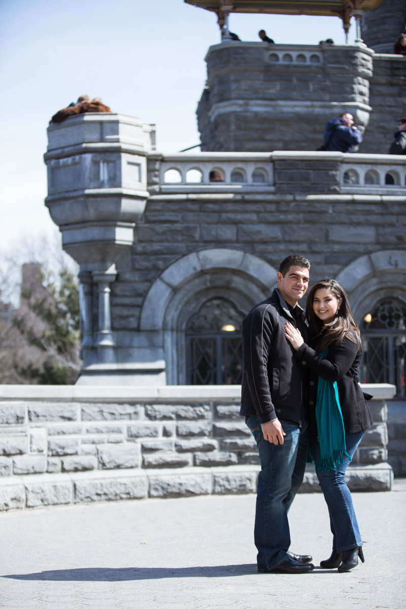 [Secret proposal in Central Park by Belvedere Castle]– photo[4]