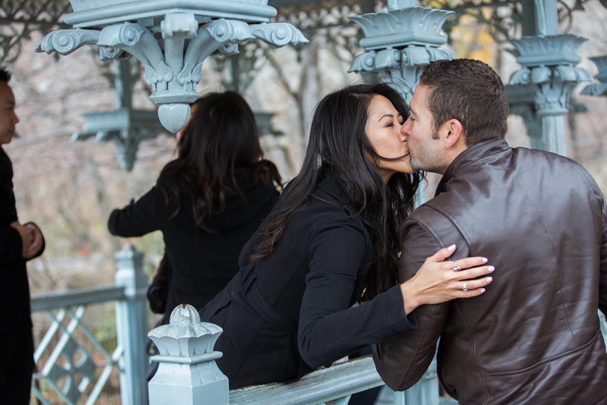 Photo 15 Surprise Proposal at Ladies Pavilion in Central Park | VladLeto