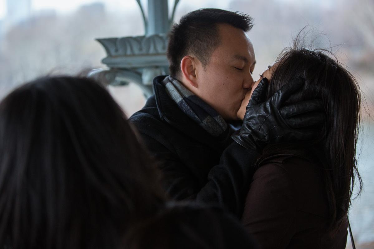 Photo 19 Surprise Proposal at Ladies Pavilion in Central Park | VladLeto