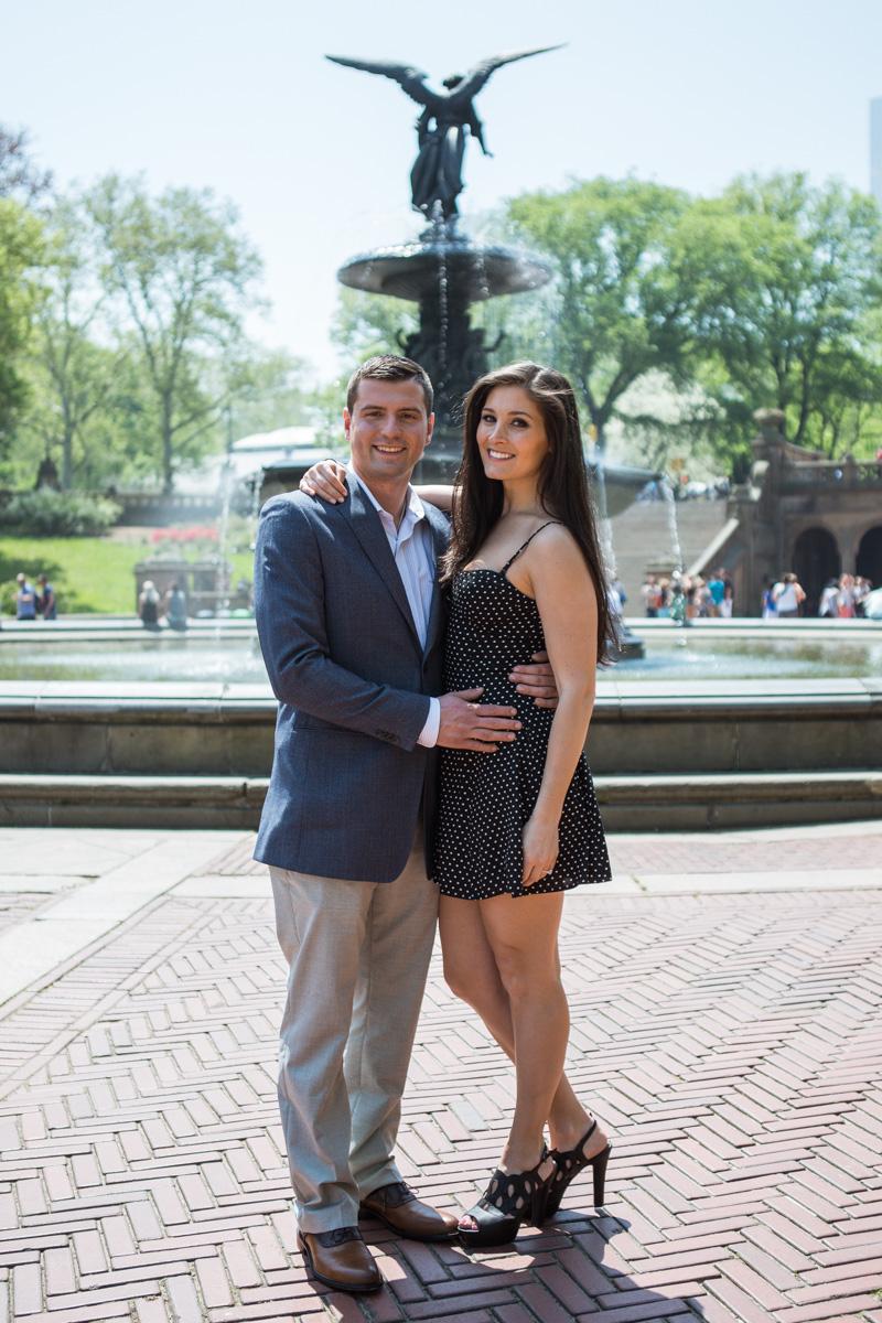 [Bethesda fountain Central park Proposal]– photo[3]