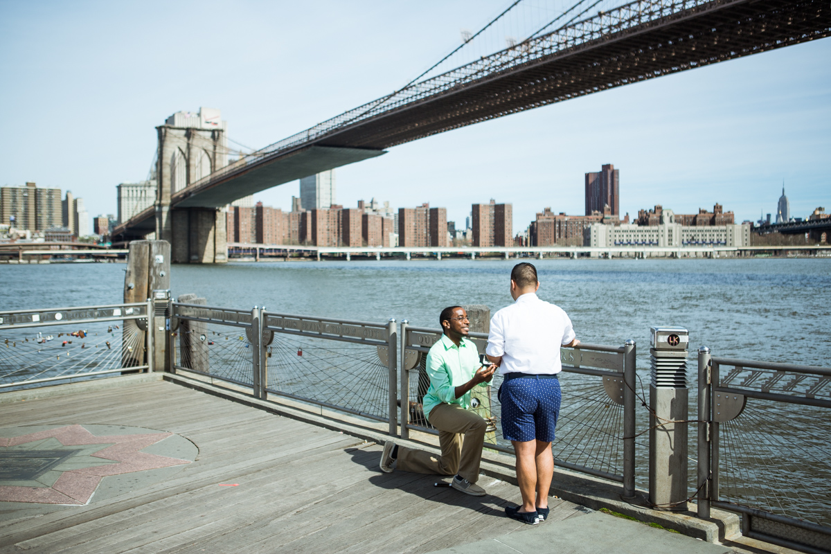 Photo 3 Secreet proposal by Brooklyn Bridge | VladLeto