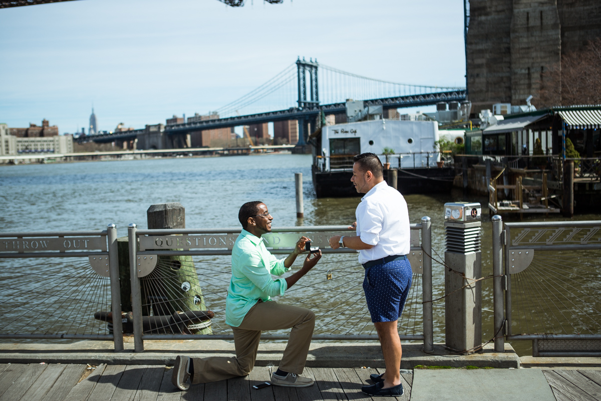 Photo 2 Secreet proposal by Brooklyn Bridge | VladLeto