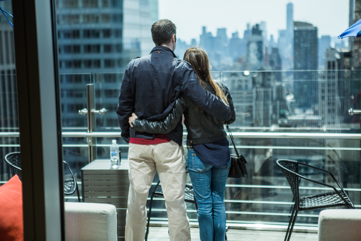 Photo 4 Marriage proposal at roof top of Hayt Times square. | VladLeto