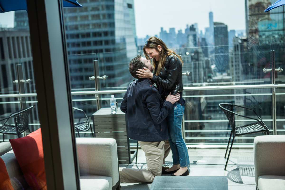 Photo 7 Marriage proposal at roof top of Hayt Times square. | VladLeto