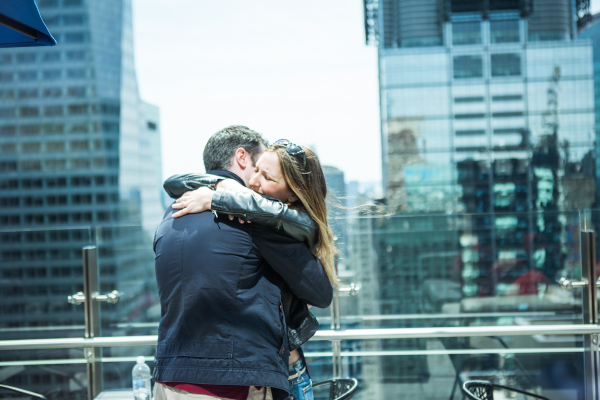 Photo 8 Marriage proposal at roof top of Hayt Times square. | VladLeto