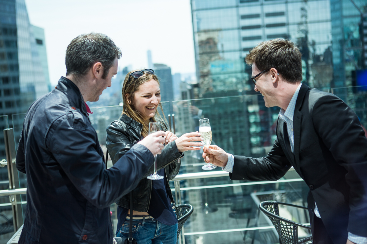Photo 9 Marriage proposal at roof top of Hayt Times square. | VladLeto