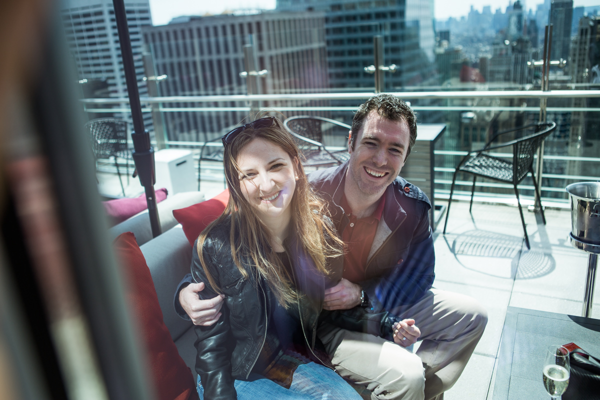 Photo 10 Marriage proposal at roof top of Hayt Times square. | VladLeto