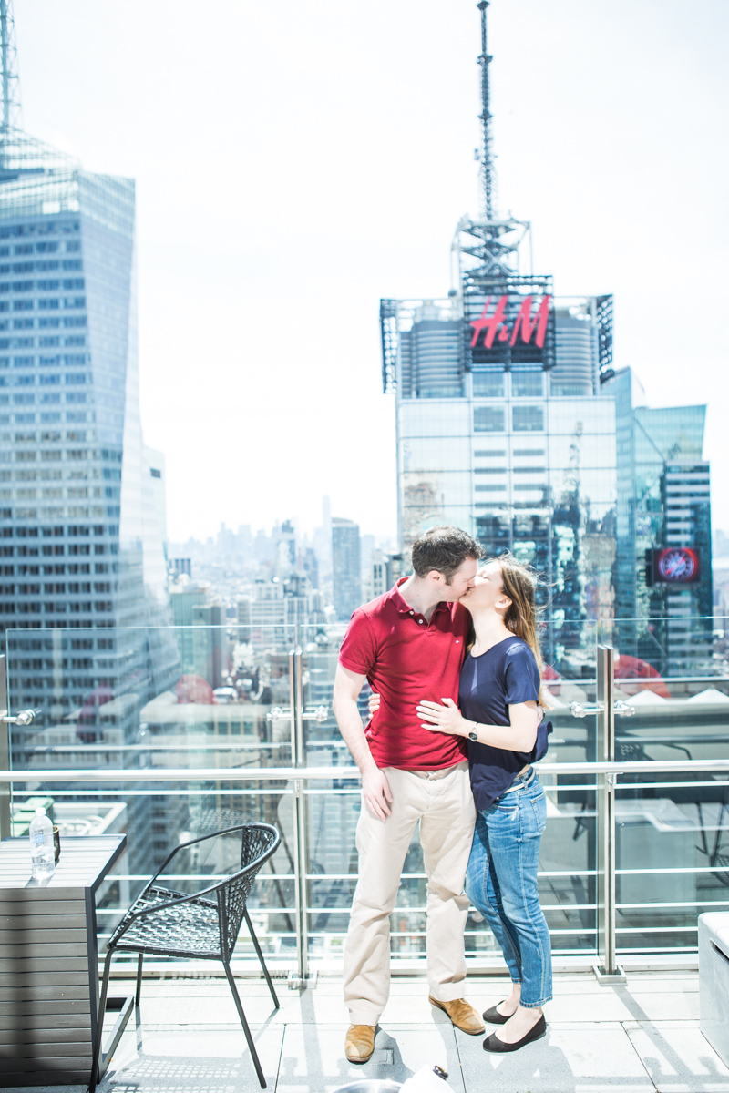 Photo 12 Marriage proposal at roof top of Hayt Times square. | VladLeto