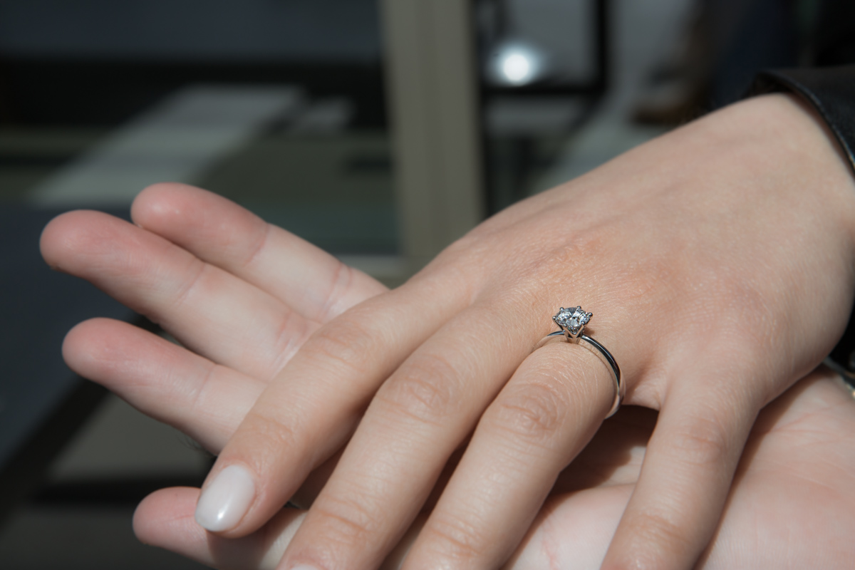 Photo 23 Marriage proposal at roof top of Hayt Times square.   VladLeto