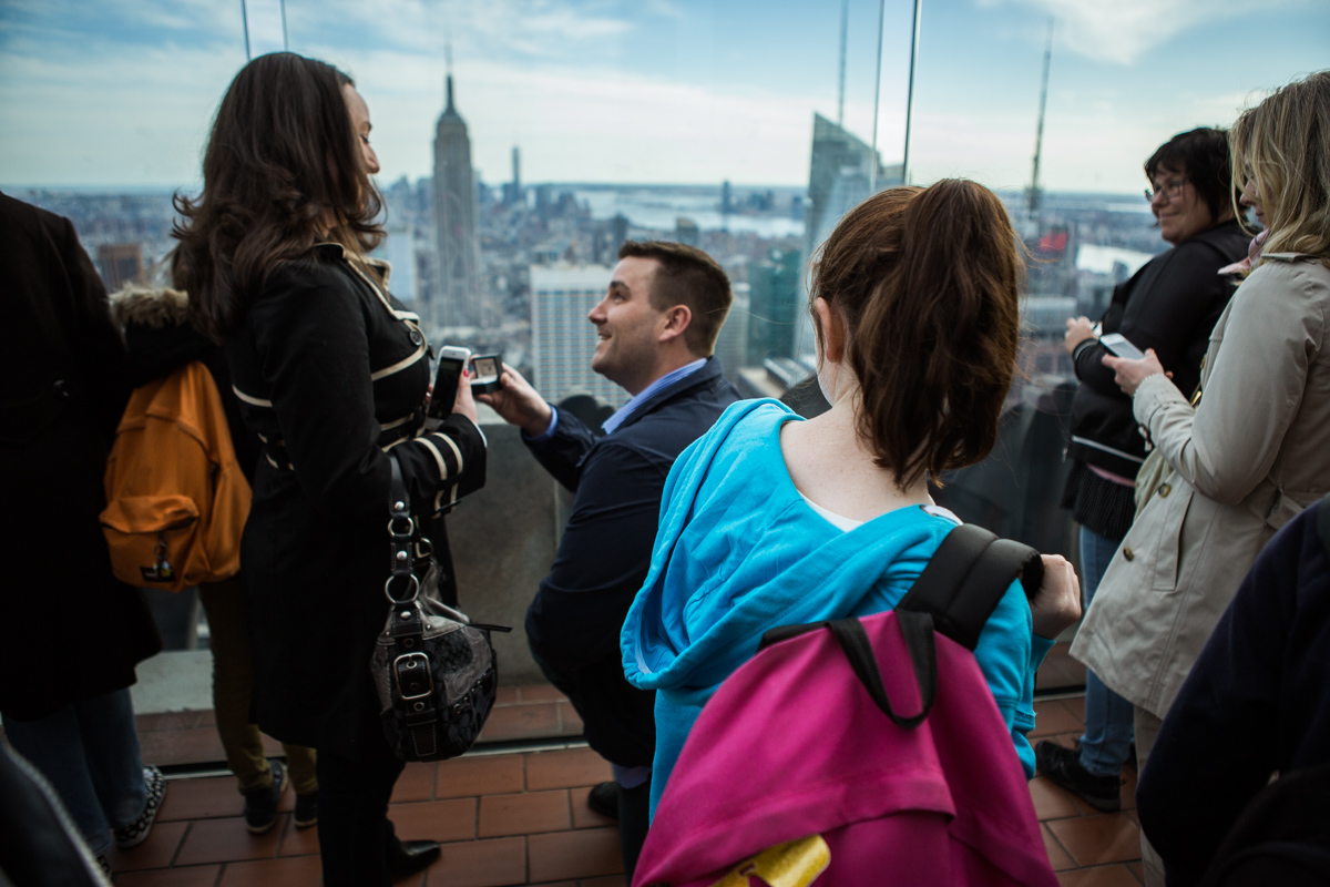 Photo 3 Marriage proposal at Top of The Rock | VladLeto