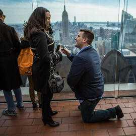 Photo Marriage proposal at Top of The Rock | VladLeto