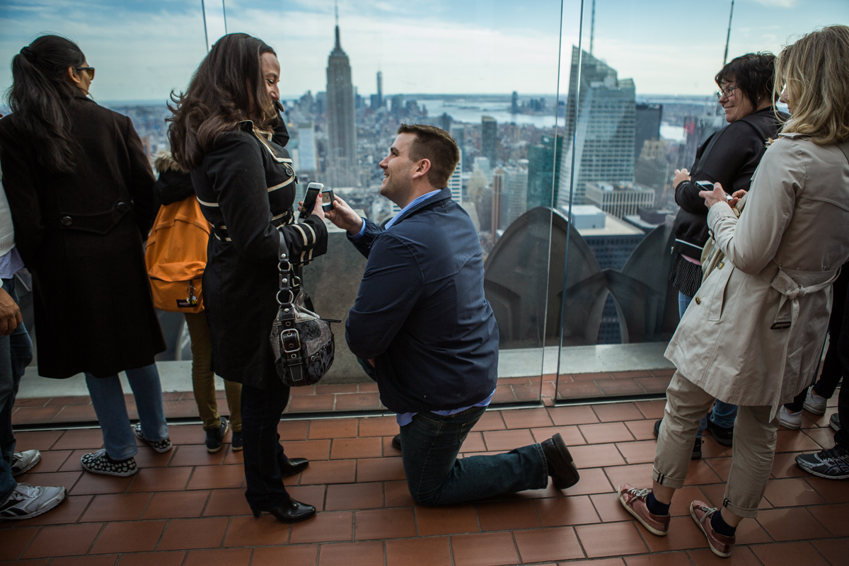 Photo 2 Marriage proposal at Top of The Rock | VladLeto