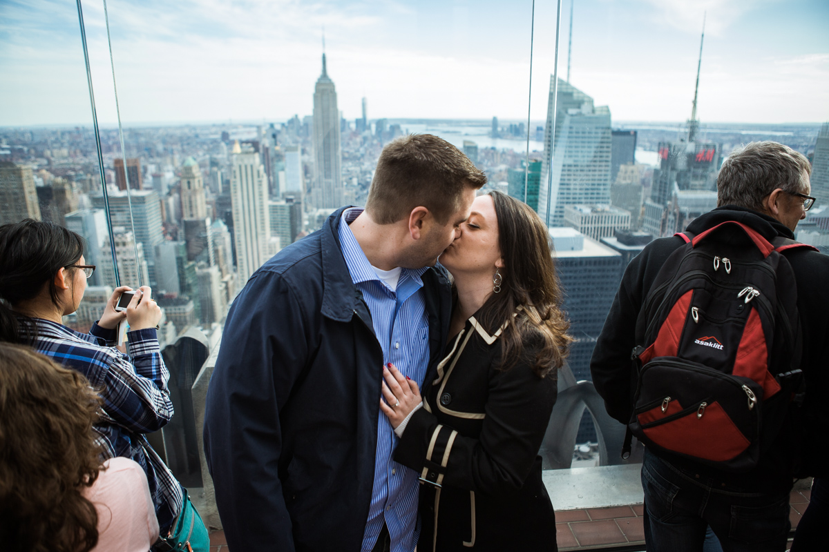 Photo 5 Marriage proposal at Top of The Rock | VladLeto