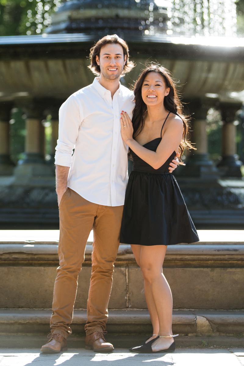 Photo 7 Bethesda Fountain marriage proposal | VladLeto