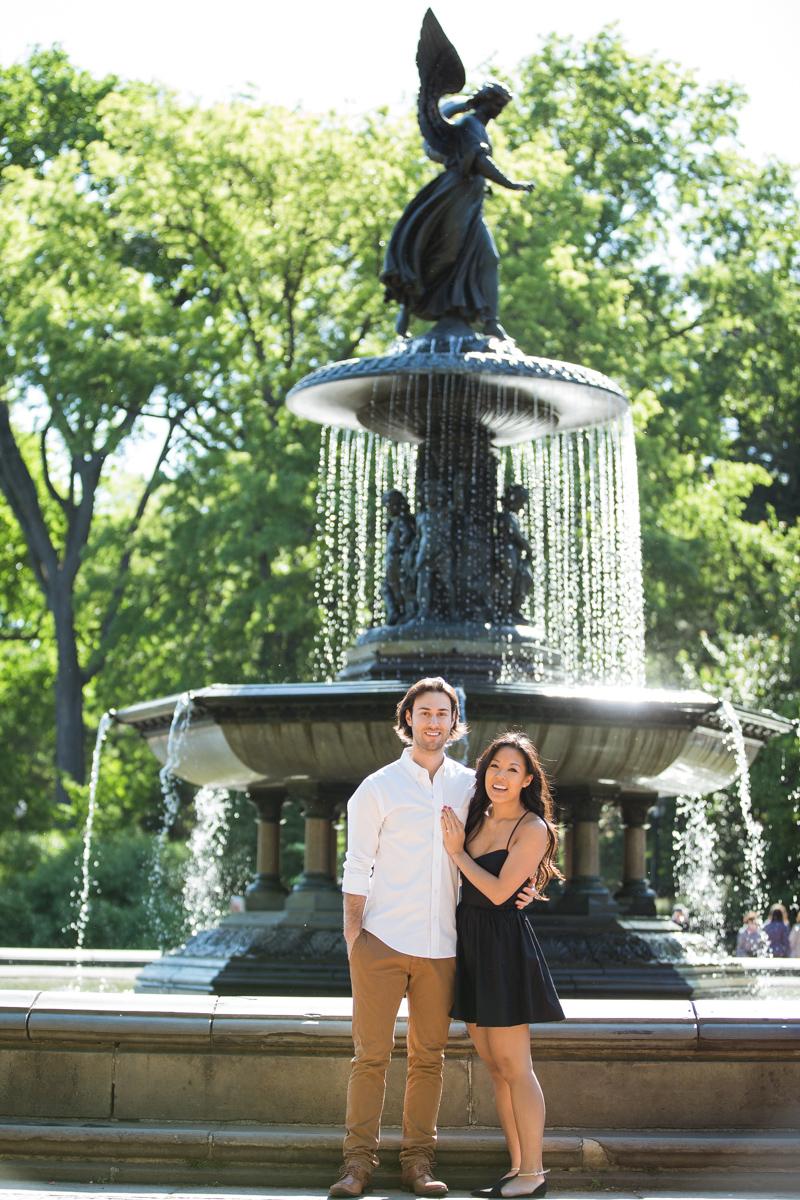 Photo 6 Bethesda Fountain marriage proposal | VladLeto