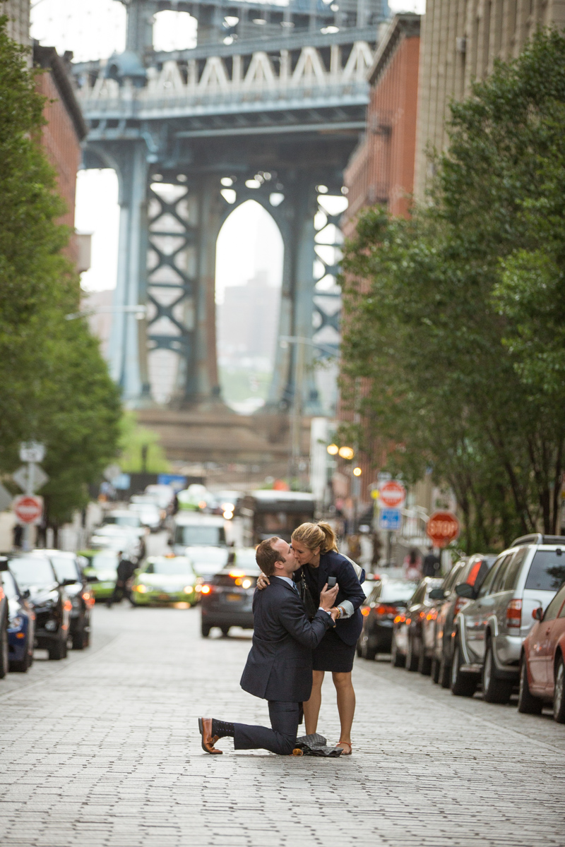 Photo 2 Secret Proposal in Dumbo, Brooklyn | VladLeto