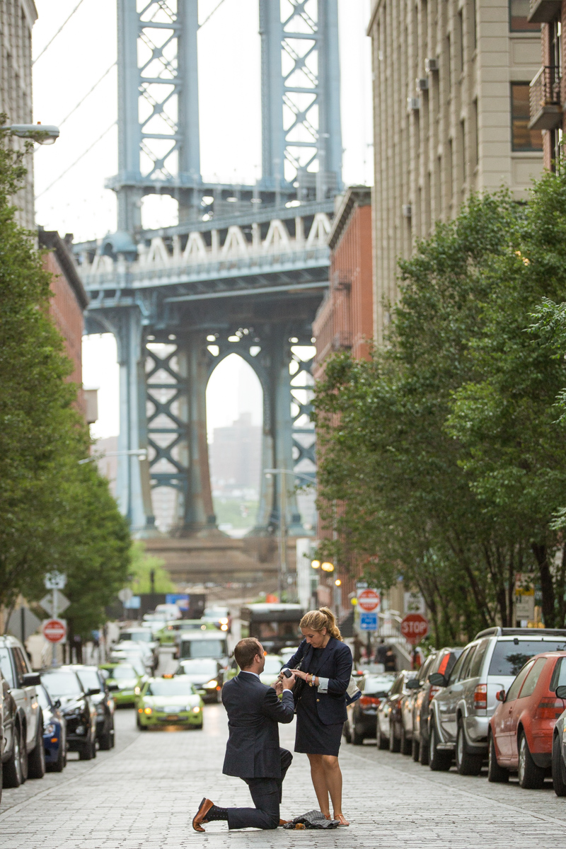 Photo 5 Secret Proposal in Dumbo, Brooklyn | VladLeto