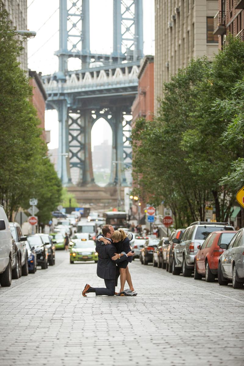 Photo 4 Secret Proposal in Dumbo, Brooklyn | VladLeto
