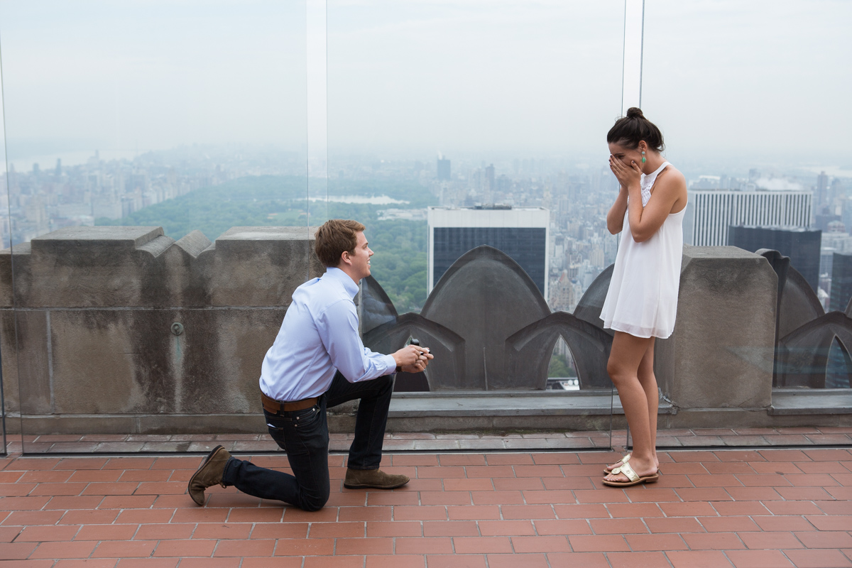 Photo 3 Top of the Rock Marriage Proposal | VladLeto