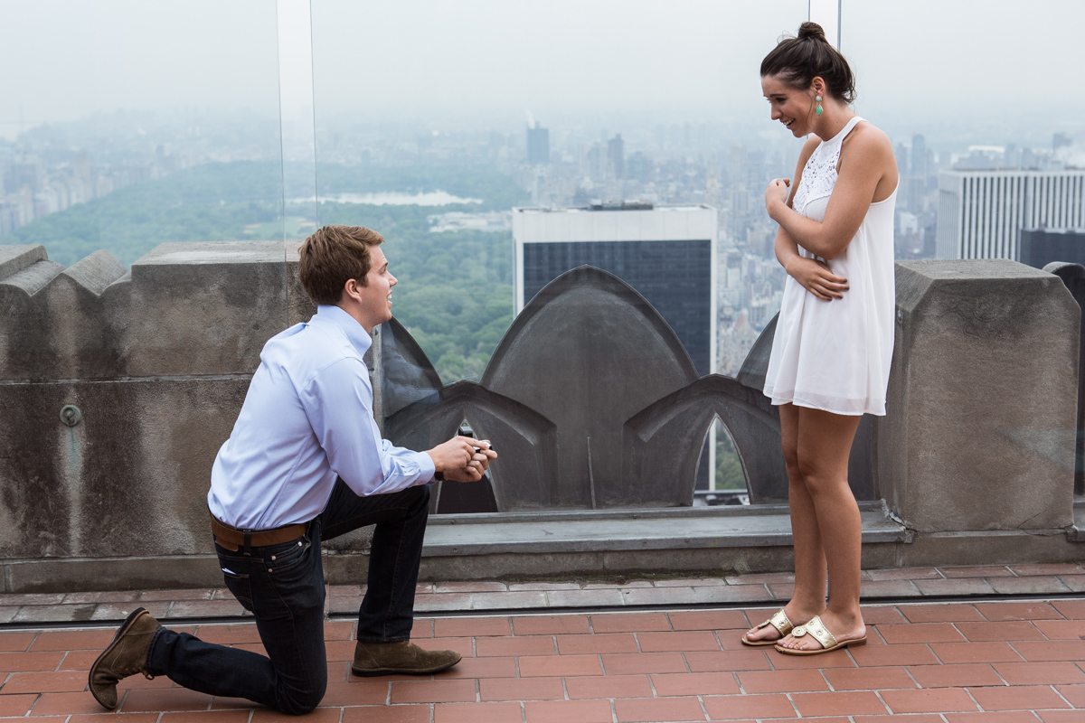 Photo Top of the Rock Marriage Proposal | VladLeto