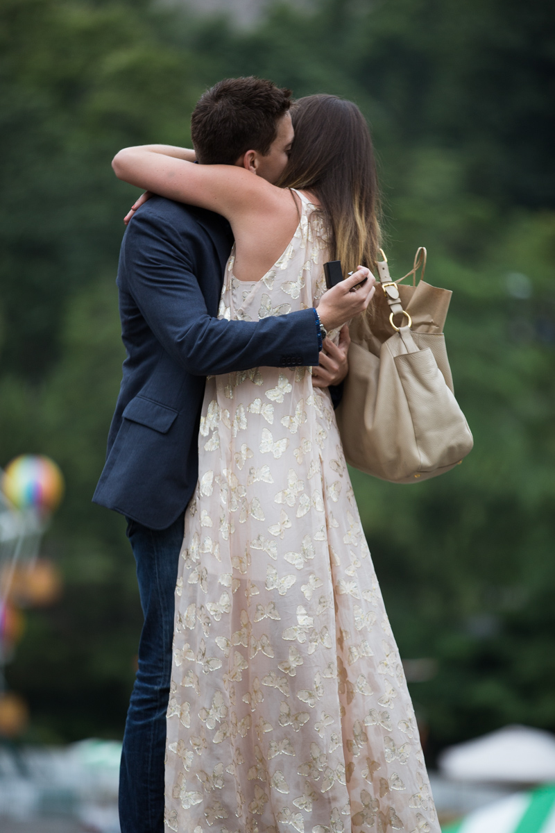 Photo 13 Marriage Proposal on the Rock in Central Park | VladLeto