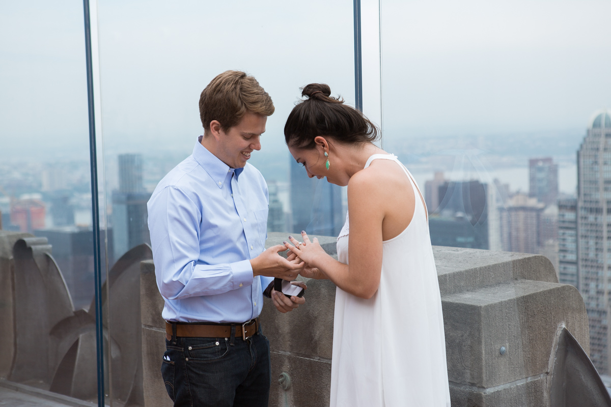 Photo 5 Top of the Rock Marriage Proposal | VladLeto