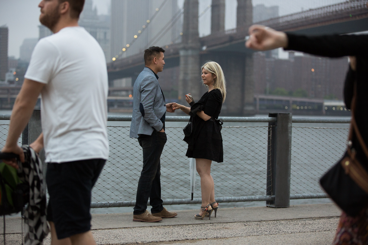 Photo 3 marriage proposal by Brookyn Bridge | VladLeto