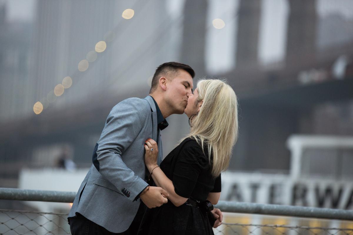 Photo 5 marriage proposal by Brookyn Bridge   VladLeto