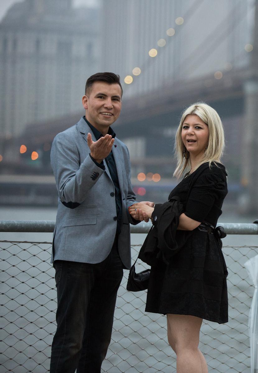 Photo 7 marriage proposal by Brookyn Bridge   VladLeto