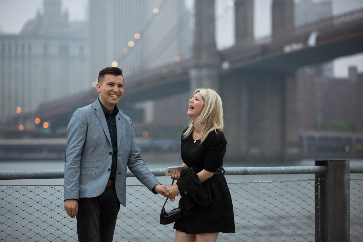 Photo 6 marriage proposal by Brookyn Bridge   VladLeto