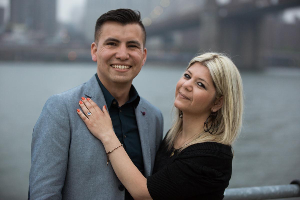 Photo 8 marriage proposal by Brookyn Bridge   VladLeto