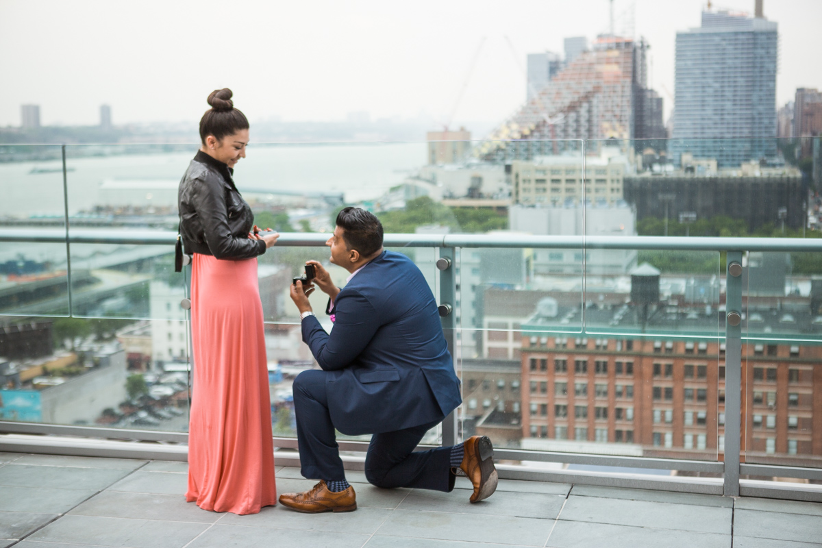 Photo 2 Roof top marriage proposal | VladLeto