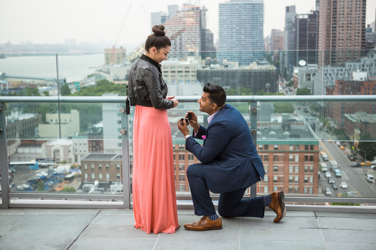 [Roof top marriage proposal ]– photo[2]